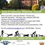 Gara Canicross, Bikejoring e Scooter
