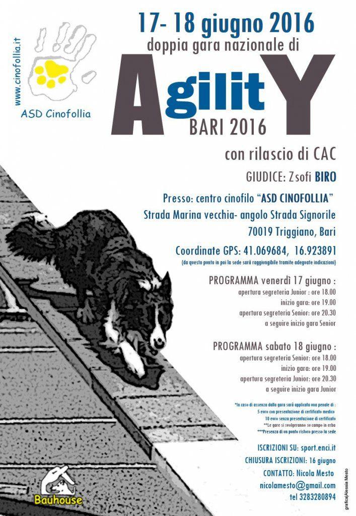 Agility - Gara Nazionale di Agility