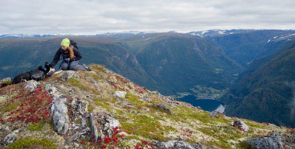giovane escursionista