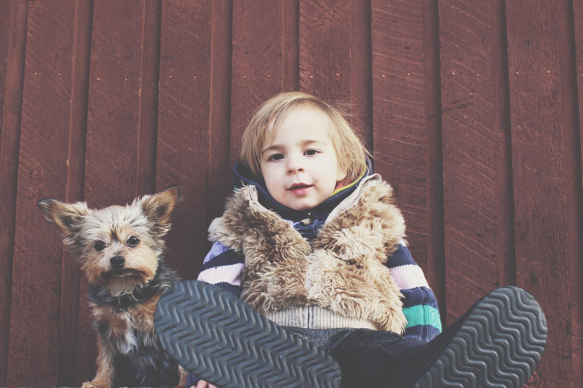 L'amicizia fra cani e bambini, raccontata in 10 fotografie