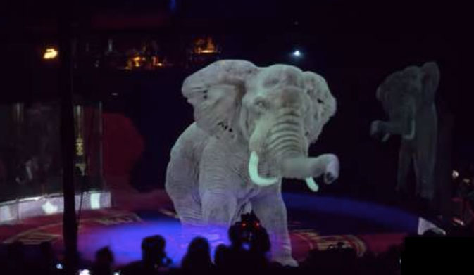 Circo Roncalli: primo circo al mondo che utilizza gli ologrammi al posto degli animali