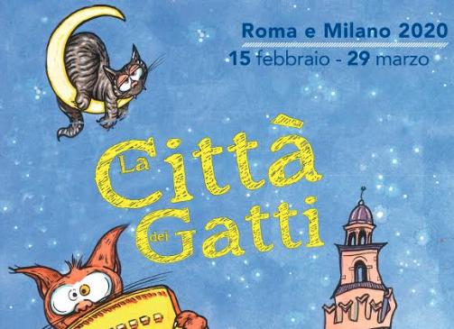 La Città dei Gatti: dal 17 febbraio al 29 marzo a Roma e Milano